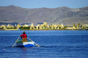 uros islands - lake titicaca, peru