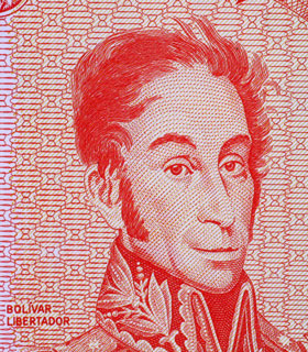 Simon Bolivar, South American liberator